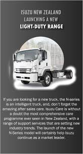 100 A And A Truck Parts Recently Isuzu New Zealand Has Launched An Extremely Popular New