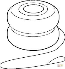 Yoyo coloring page