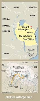 Kilimanjaro Is The Highest Mountain In Africa And Free Standing World At 5895 Meters Or 19341 Feet Above Sea Level