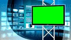 Green Screen Studio 8 Loop Virtual Set News Animated Broadcast