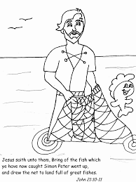 Coloring Page Place Apostles Book Pages