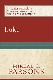 Tyndale New Testament Commentary Series Luke By Parsons Mikeal C Charles Talbert Contribution Bruce Longenecker