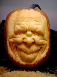 Snickers Halloween Commercial Pumpkin by Cyclops Pumpkin Sculpture Carving By Ray Villafane Holiday