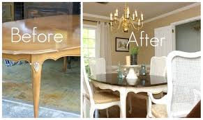 How To Paint A Dining Room Table Chalk