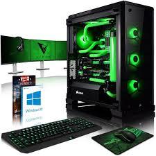 pack ordinateur de bureau vibox venom gl780t 38 pack pc gamer intel 4 2x gtx 1080 ti