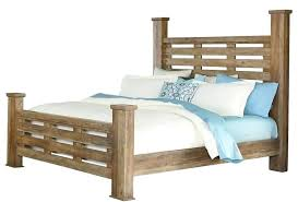 Wooden Bed With Drawerwooden Bed Frame With Posts Wood Bed With