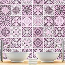 stickers carrelage salle de bain sticker carrelage pour salle de bain modèle pack avec 32