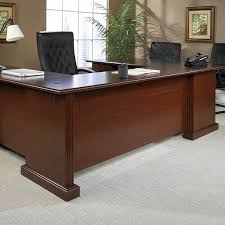 Sauder Shoal Creek Executive Desk by Tables Contemporary Executive Sauder Barrister Lane L Shaped