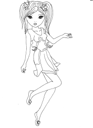 Top Model Biz Coloriage 3 On With HD Resolution 595x842 Pixe