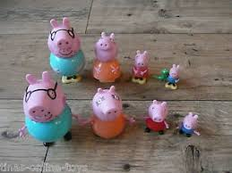 peppa pig cake decorations peppa pig family figures peppa george mummy pig pig cake