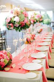 65 best Coral Wedding Decorations images on Pinterest