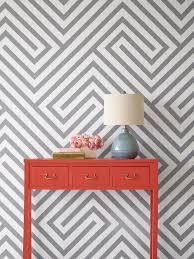 100 Walls By Design How To Paint Diagonal Stripes On A Wall HGTV