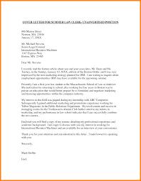 Sample Law Student Cover Letter] 80 images application letter