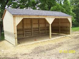 the cottage works horse and livestock shelters