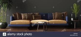 luxuriöses modernes wohnzimmer einrichtung dunkle grün
