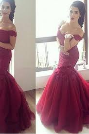 burgundy lace prom dress luulla