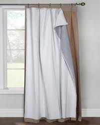 Room Darkening Drapery Liners by Ultimate Liner For Pinch Pleat Curtain Panels Curtainshop Com