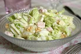 cuisiner le chou chinois cuit recette salade de pe tsaï au comté et jambon cuisinez salade de