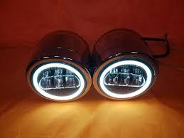 Harley Davidson Light Bar by Harley Chrome Dual Twin Daymaker Headlights With Bracket Light Bar