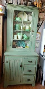 Primitive Antique Jelly Cabinet Kitchen Cupboard With Original