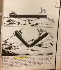 Edmund Fitzgerald Sinking Cause by Edmund Fitzgerald 11 10 Mr Fromm U0027s Third Grade
