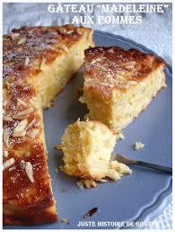 dessert aux pommes sans cuisson juste histoire de goûter gâteau madeleine aux pommes
