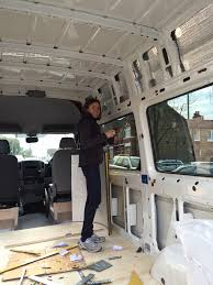Insulating Carpet by Self Build Motorhome Conversion Of Our Volkswagen Crafter