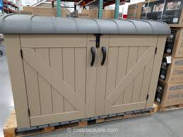 Keter Woodland High Storage Shed by Keter Sheds Costco Fabulous Images Of Outdoor Storage Sheds