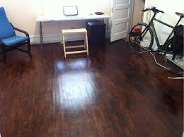 Applying Water Based Polyurethane To Hardwood Floors by Removing Mysterious Layer The Home Depot Community