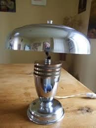Cedric Hartman Lamp Ebay by Vintage Art Deco Mushroom Lamp Chrome Made In Usa Ebay Art