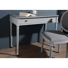 bureau classique bureau classique chic gris clair villandry amadeus achat vente