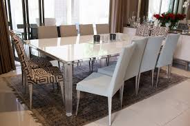 Fluted Leg Dining Table