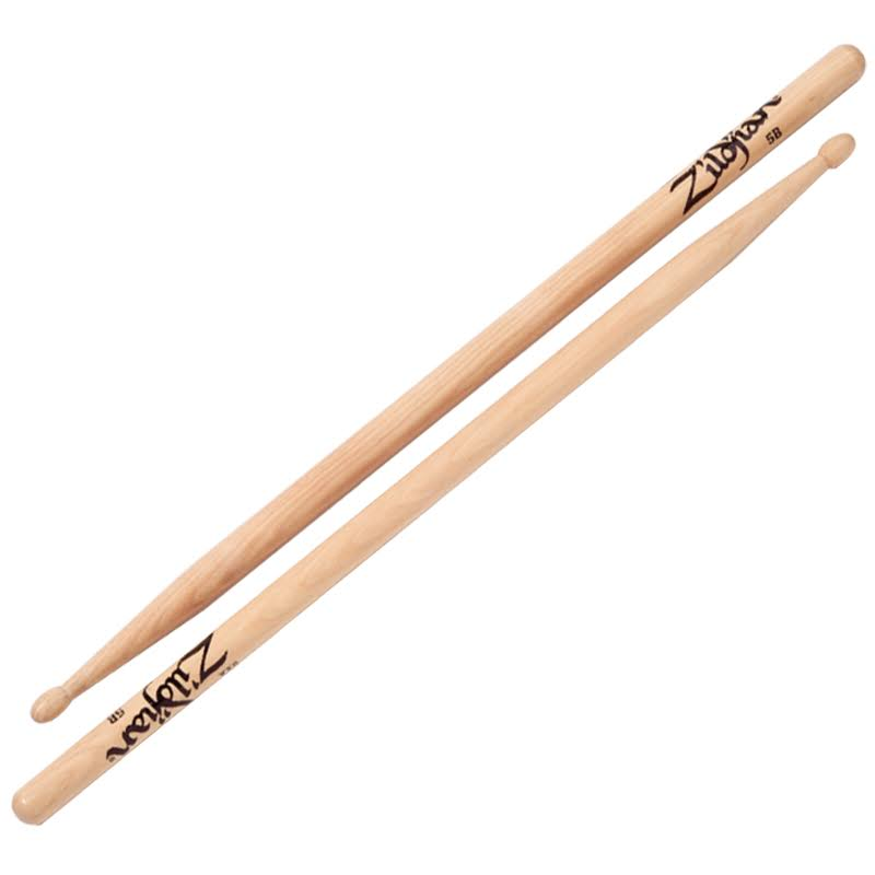 Zildjian 5B Natural Wood Drumsticks