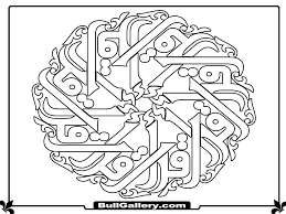 Arabic Patterns Colouring Sheets Coloring Pages Getcoloringpages