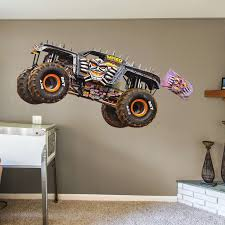 100 Monster Truck Wall Decals MaxD Huge Officially Licensed Jam Removable Decal