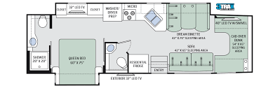 C Floor Plans by Four Winds Class C Oman Motor Homes Oman Motor Homes