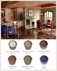 Warm Colors For A Living Room by Colorfully Behr Color For Open Floor Plans