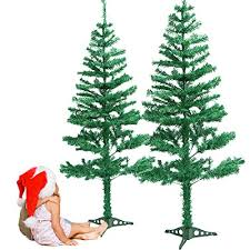 Christmas Tree Evergreen Artificial With Stand Easy Assembly Spruce Pine Durable