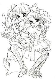 Japanese Anime Coloring Pages Books And Book On