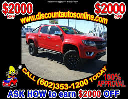 100 Lifted Trucks For Sale In Colorado Used 2016 Chevrolet 4WD 4X4 Crew Cab Z71 In Phoenix