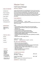Call Center Supervisor Resume Awesome How To Make A For Yeniscale Of