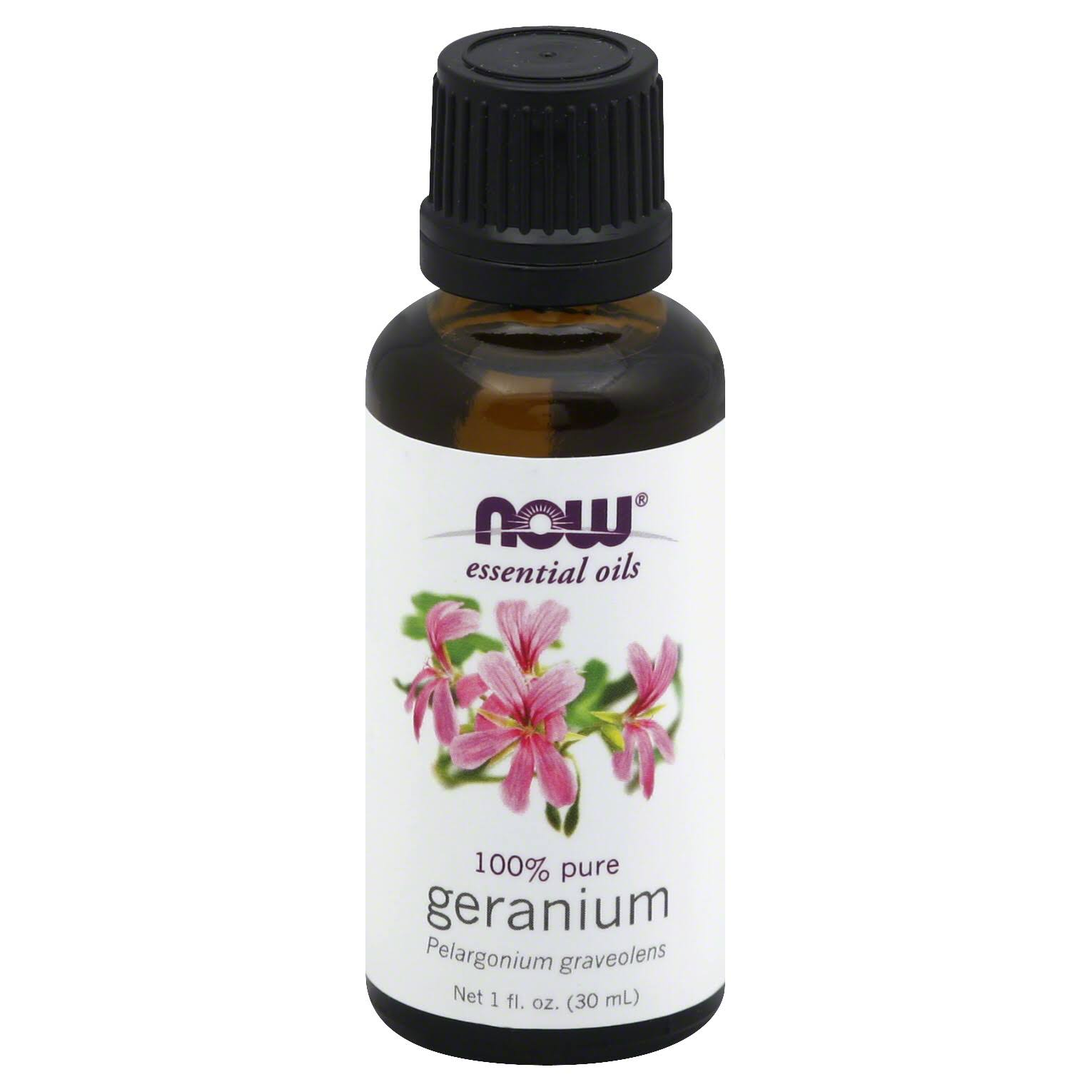 Now Essential Oils - Geranium, 30ml