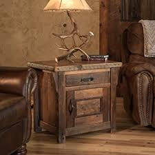 Barnwood Living Room Occasional Tables