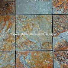 Natural Slate Stone Flooring Rustic Tile China