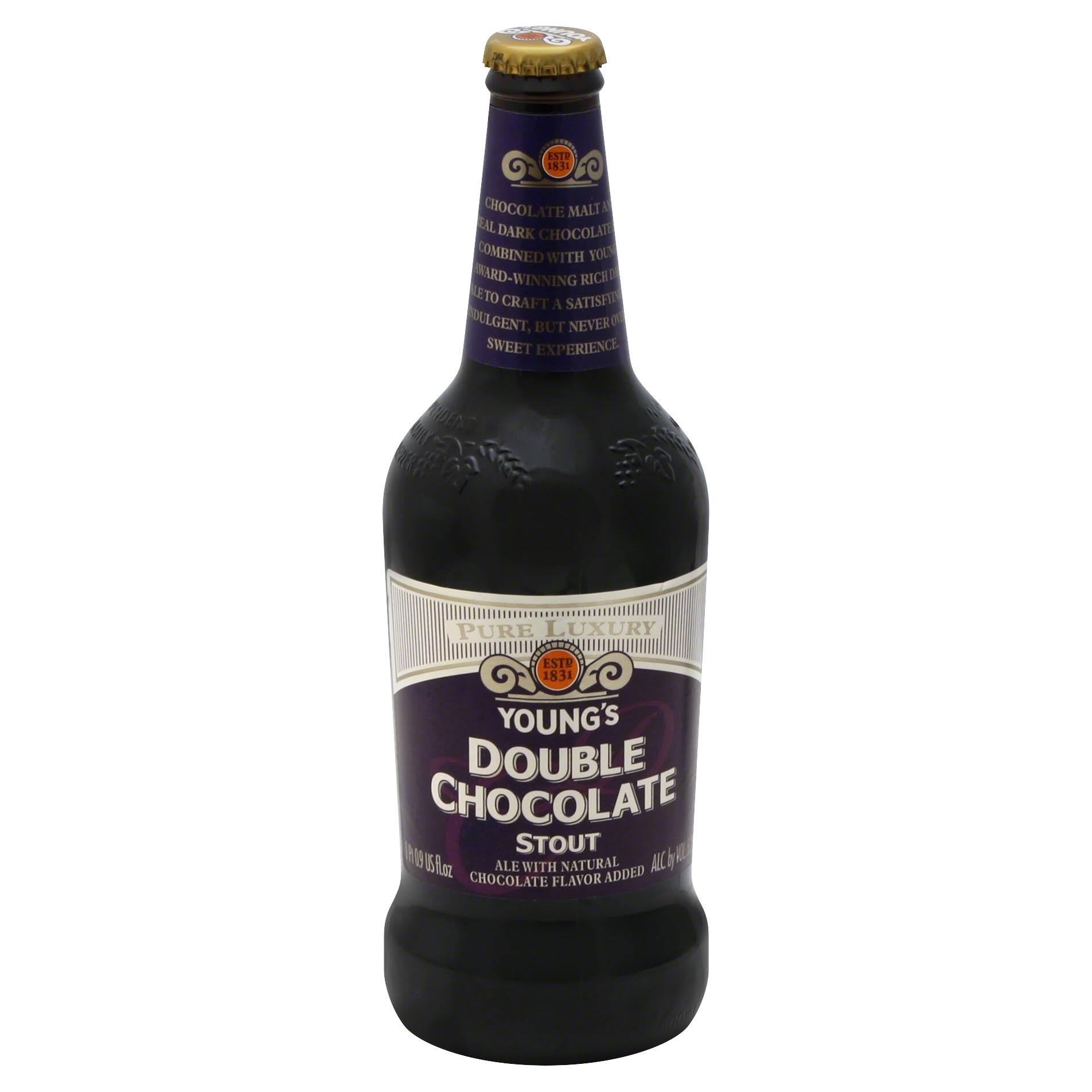 Youngs Ale, Double Chocolate Stout - 16.9 oz