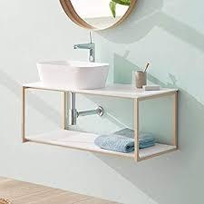 de sanycces badezimmerschrank uno metall zum