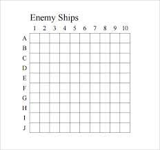 Battleship Game Template Sample 8 Documents In Pdf