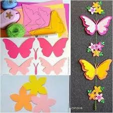 Make Folded Paper Butterflies Tutorial