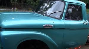 100 1964 Ford Truck F100 FORD TRUCK PROJECT Part 4 YouTube