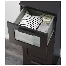 Hopen Dresser 4 Drawer by Brimnes 4 Drawer Chest Black Frosted Glass Ikea